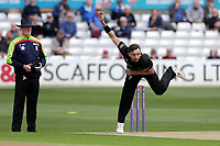 Matt Taylor in bowling action for Gloucestershire during Essex Eagles vs Gloucestershire, Royal London One-Day Cup Cricket at The Cloudfm County Ground on 7th May 2019