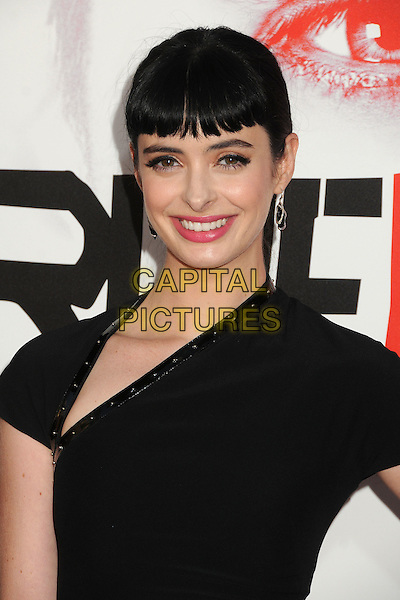 "Krysten Ritter.HBO's ""True Blood"" Season 5 Premiere, Hollywood, California, USA..May 30th, 2012.headshot portrait black pink lipstick .CAP/ADM/BP.©Byron Purvis/AdMedia/Capital Pictures."