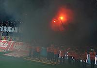 FUSSBALL   1. BUNDESLIGA  SAISON 2011/2012   34. Spieltag 1. FC Koeln - FC Bayern Muenchen        05.05.2012 Fans vom 1. FC Koeln wollen das Spielfeld stuermen