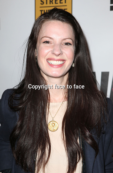 """Kate Arrington attending the New York Premiere of the Opening Night Performance of """"Hit The Wall"""" at the Barrow Street Theatre in New York City on 3/10/2013...Credit: McBride/face to face"""