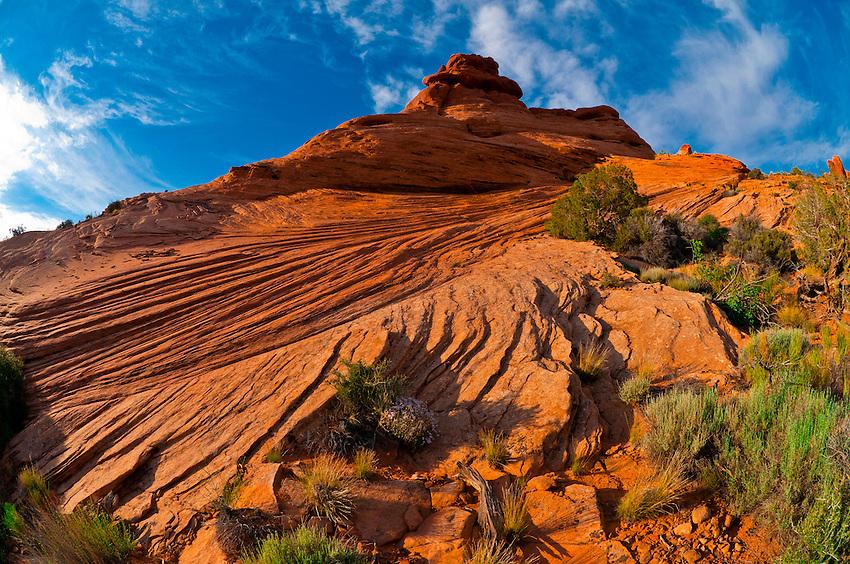 Arches National Park, near Moab, Utah USA