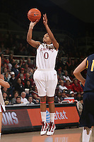 STANFORD, CA - JANUARY 2:  Melanie Murphy of the Stanford Cardinal during Stanford's 79-58 win over the California Golden Bears on January 2, 2010 at Maples Pavilion in Stanford, California.