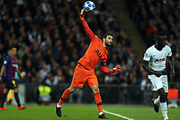 Hugo Lloris of Tottenham Hotspur during Tottenham Hotspur vs FC Barcelona, UEFA Champions League Football at Wembley Stadium on 3rd October 2018