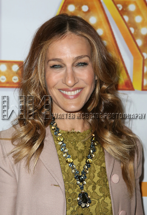 NEW YORK, NY - JANUARY 23:  Sarah Jessica Parker attends the Re-Opening Night of 'It's Only A Play'  at the Bernard B. Jacobs Theatre on January 23, 2014 in New York City.  (Photo by Walter McBride/WireImage)