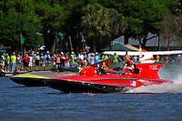 "U-55 ""Gale V"" (Unlimited Hydroplane) and Ron Snyder, U-36 ""Miss U. S, (Unlimited Hydroplane_"