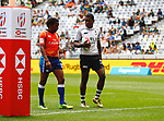 Aminiasi Tuimaba, Day 1 at Cape Town 7s for HSBC World Rugby Sevens Series 2018, Cape Town, South Africa - Photos Martin Seras Lima
