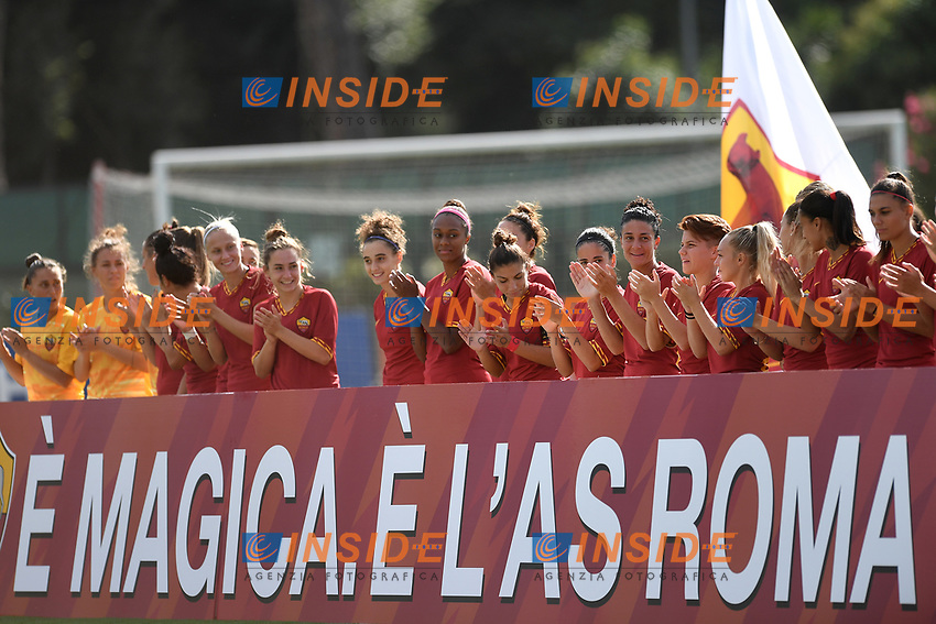 AS Roma team <br /> Roma 8/9/2019 Stadio Tre Fontane <br /> Luisa Petrucci Trophy 2019<br /> AS Roma - Paris Saint Germain<br /> Photo Andrea Staccioli / Insidefoto