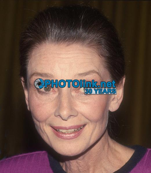 Audrey Hepburn 1989<br /> Photo By John Barrett/PHOTOlink