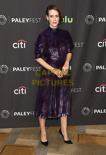 26 March 2017 - Hollywood, California - Sarah Paulson. The Paley Center For Media's 34th Annual PaleyFest Los Angeles - &quot;American Horror Story: Roanoke&quot;  held at the Dolby Theatre. <br /> CAP/ADM<br /> &copy;ADM/Capital Pictures