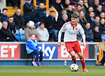 Sheffield United's Ryan Flynn in action during the League One match at The Den.  Photo credit should read: David Klein/Sportimage