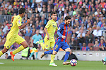 06.05.2017 Barcelona. La Liga game 31. picture show Leo Messi  in action during game between FC Barcelona against Villarreal at Camp Nou