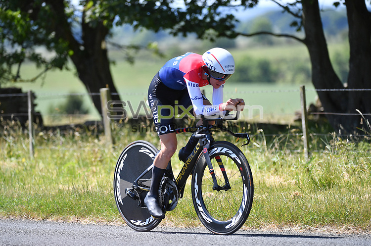 Picture by SWpix.com 28/06/2018 - HSBC UK Men's U23 National Time Trial Championships - Kirkley Hall, Northumberland, England - Tom Pidcock of Team Wiggins