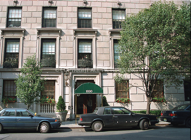 Robert Redford owns a three-bedroom co-op duplex in this building on Upper East Side in New York. The apartment has eight rooms, including a living room, separate dining room, library, master bedroom with a gym and study. The actor reportedly bought the co-op in 1997 for $3.7 million after selling his place at 955 Fifth Ave. He then had the traditional prewar decor revamped into an adobe-on-the-park motif, featuring an unlikely color scheme of oranges and clay and steer skulls a la Georgia O'Keefe. Please byline: Alecsey Boldeskul/NY Photo Press.   ..*PAY-PER-USE*      ....NY Photo Press:  ..phone (646) 267-6913;   ..e-mail: info@nyphotopress.com