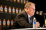 010213--Oregon Ducks Head Coach Chip Kelly answers questions from reporters during a press conference at the Camelback Inn in Scottsdale, Arizona. .Photo by Jaime Valdez