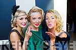 Caragh Moloney, Deirdre O'Callaghan and Catriona White at the Great Gatsby Gala in the Malton Hotel on Friday night