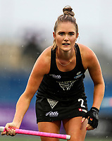 Samantha Harrison during the World Hockey League match between New Zealand and Korea. North Harbour Hockey Stadium, Auckland, New Zealand. Saturday 18 November 2017. Photo:Simon Watts / www.bwmedia.co.nz