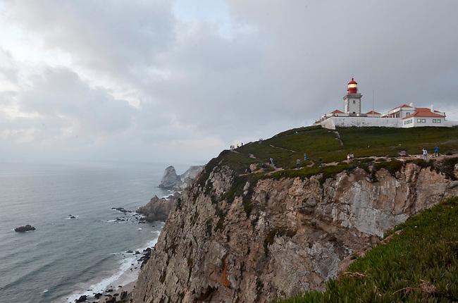 Portugal, lighthouse of Cabo da Roca