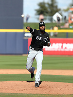 Tayron Guerrero - Chicago White Sox 2020 spring training (Bill Mitchell)