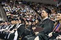 Spring 2016 MSU Graduation at Humphrey Coliseum, Saturday ceremony - ACCESS Program graduate Daniel Mooney.<br />