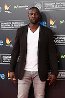 Omar Sy poses for photographers the red carpet before of Closing Ceremony of the 62st San Sebastian Film Festival in San Sebastian, Spain. September 27, 2014. (ALTERPHOTOS/Caro Marin) /NortePHOTO.com /nortephoto.com