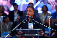 SAO PAULO, SP, 24 JUNHO 2012 - CONVENÇAO PSDB  Senador Alvaro Dias durante convenção do PSDB para lancamento da candidatura do tucano José Serra no Ginásio Mauro Pinheiro (Ibirapuera) nesse domingo, 24. FOTO: VANESSA CARVALHO - BRAZIL PHOTO PRESS.