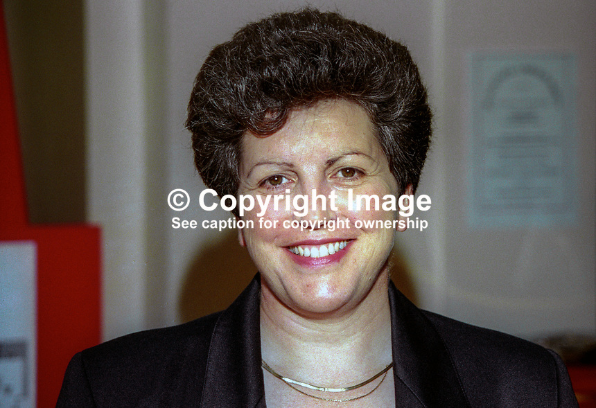 Pauline Green, MEP, UK Labour Party, October, 1996, 196610015<br /> <br /> Copyright Image from Victor Patterson,<br /> 54 Dorchester Park, <br /> Belfast, UK, BT9 <br /> <br /> t1: +44 28 9066 1296 (from Rep of Ireland 048 90661296)<br /> t2: +44 28 9002 2446 (from Rep of Ireland 048 9002 2446)<br /> <br /> m: +44 7802 353836<br /> <br /> e: victorpatterson@me.com<br /> www.victorpatterson.com<br /> <br /> Please see my Terms and Conditions of Use at www.victorpatterson.com. It is IMPORTANT that you familiarise yourself with them.<br /> <br /> Images used on the Internet must be visibly watermarked i.e. &copy; Victor Patterson<br /> within the body of the image and copyright metadata must not be deleted. Images <br /> used on the Internet have a size restriction of 4kbs and will be chargeable at current<br />  NUJ rates unless agreed otherwise.<br /> <br /> This image is only available for the use of the download recipient i.e. television station, newspaper, magazine, book publisher, etc, and must not be passed on to any third <br /> party. It is also downloaded on condition that each and every usage is notified within 7 days to victorpatterson@me.com<br /> <br /> The right of Victor Patterson to be identified as the author is asserted in accordance with The Copyright Designs And Patents Act (1988). All moral rights are asserted.