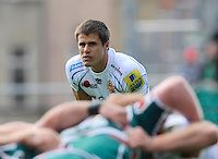 Aviva Premiership. Leicester, England. Ignacio Mieres of Exeter Chiefs during the Aviva Premiership match between Leicester Tigers and Exeter Chiefs at Welford Road on September 29. 2012 in Leicester, England.