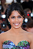 "FREIDA PINTO.attends the screening of 'Moonrise Kingdom', on the opening day of the 65th Annual Cannes Film Festival at Palais des Festivals, Cannes_16/05/2012.Mandatory Credit Photos: L'Oreal/NEWSPIX INTERNATIONAL..**ALL FEES PAYABLE TO: ""NEWSPIX INTERNATIONAL""**..PHOTO CREDIT MANDATORY!!: NEWSPIX INTERNATIONAL(Failure to credit will incur a surcharge of 100% of reproduction fees)..IMMEDIATE CONFIRMATION OF USAGE REQUIRED:.Newspix International, 31 Chinnery Hill, Bishop's Stortford, ENGLAND CM23 3PS.Tel:+441279 324672  ; Fax: +441279656877.Mobile:  0777568 1153.e-mail: info@newspixinternational.co.uk"