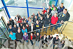 DAIRY MASTER: Farmers from Macra na Feirme who brought on a tour of Dairy Master Building in Causeway on Saturday.