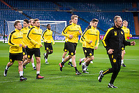 Training of Borussia Dortmund.