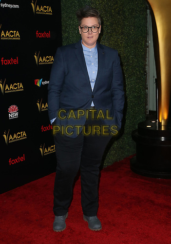 04 January 2019 - West Hollywood California - Hannah Gadsby. 8th AACTA International Awards held at Skybar at Mondrian Los Angeles.         <br /> CAP/ADM/FS<br /> ©FS/ADM/Capital Pictures