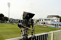 Television camera outside of media centre prior to Essex Eagles vs Surrey, Vitality Blast T20 Cricket at The Cloudfm County Ground on 11th September 2020