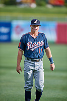 Andy Young (11) of the Reno Aces before the game against the Salt Lake Bees at Smith's Ballpark on June 27, 2019 in Salt Lake City, Utah. The Aces defeated the Bees 10-6. (Stephen Smith/Four Seam Images)