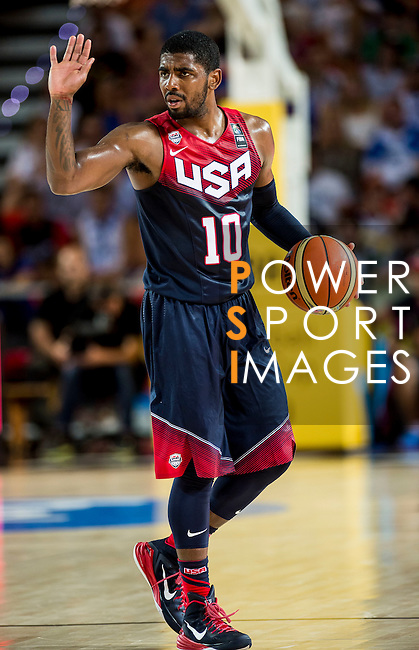 Kyrie Irving of United States of America during FIBA Basketball World Cup 2014 group C between United States of America vs Turkey  on August 31, 2014 at the Bilbao Arena stadium in Bilbao, Spain. Photo by Nacho Cubero / Power Sport Images