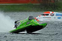 Carlos Mendana (#27) and Mark Major (#17)     (Formula 1/F1/Champ class)