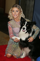"""HOLLYWOOD, CA - SEPTEMBER 10: Julianne Hough, Falco, at """"America's Got Talent"""" Season 14 Live Show Red Carpet at The Dolby Theatre  in Hollywood, California on September 10, 2019. Credit: Faye Sadou/MediaPunch"""