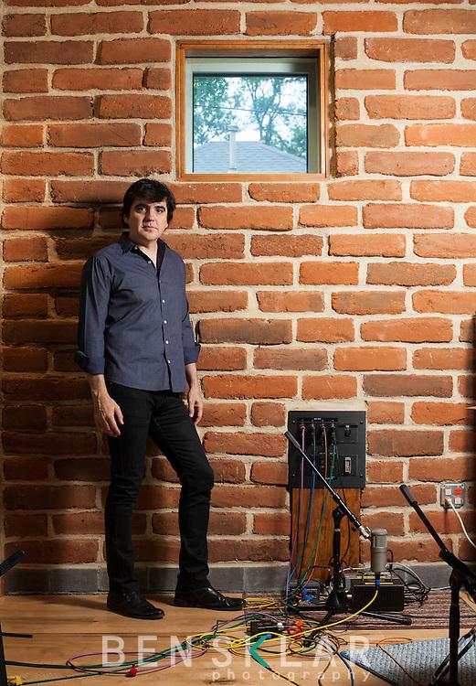 Jim Eno, drummer of Spoon, and producer at Public-hifi recording studio.