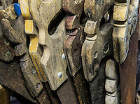 Old used saws.