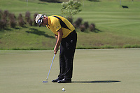 Daniel Chopra (SWE) putts on the par3 12th green during Sundays Final Round 3 of the 54 hole Iskandar Johor Open 2011 at the Horizon Hills Golf Resort Johor, Malaysia, 19th November 2011 (Photo Eoin Clarke/www.golffile.ie)