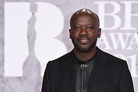 LONDON, UK. February 20, 2019: Daniel Adjaye arriving for the BRIT Awards 2019 at the O2 Arena, London.<br /> Picture: Steve Vas/Featureflash<br /> *** EDITORIAL USE ONLY ***