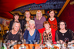 Dawn O'Brien, Castlemaine celebrating a Birthday with friends at Ristorante Uno on Saturday. Pictured front Leslie Briggs, Dawn O'Brien, Kitty Daly, Geraldine Moriarty, Back l-r Mary O'Brien,  Bridie Courtney, Rhonda Magee and Margaret O'Shea