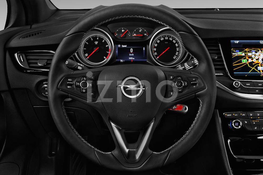 2016 opel astra dynamic 4 door hatchback steering wheel cars pictures izmostock. Black Bedroom Furniture Sets. Home Design Ideas