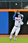 11 April 2012: New York Mets outfielder Scott Hairston in action against the Washington Nationals at Citi Field in Flushing, New York. The Nationals shut out the Mets 4-0 to take the rubber match of their 3-game series. Mandatory Credit: Ed Wolfstein Photo