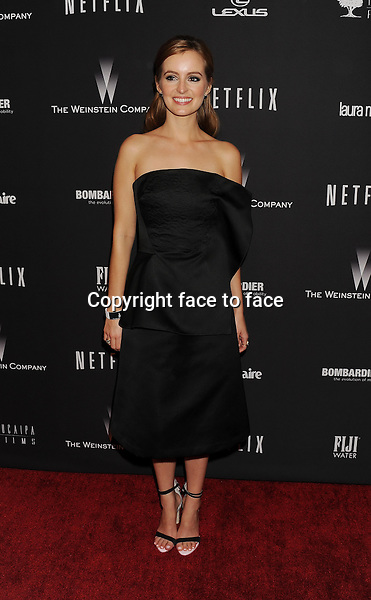 BEVERLY HILLS, CA- JANUARY 12: Actress Ahna O'Reilly attends The Weinstein Company &amp; Netflix 2014 Golden Globes After Party held at The Beverly Hilton Hotel on January 12, 2014 in Beverly Hills, California.<br />