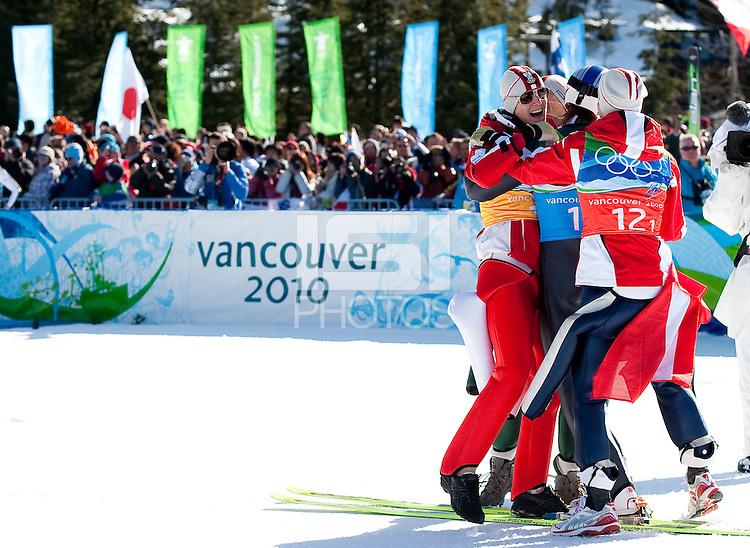 WHISTLER, BC, CANADA--Men's Ski Jumping, Whistler Olympic Park.