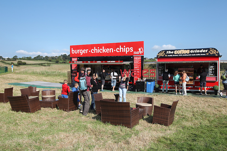 ISPS Handa Wales Open<br /> On Course catering<br /> Celtic Manor Resort<br /> 21.09.14<br /> ©Steve Pope-SPORTINGWALES