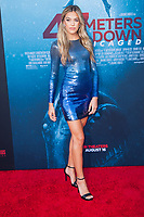 Los Angeles, CA - AUGUST 13th: <br /> Sistine Rose Stallone attends the 47 Meters Down premiere at the Regency Village Theater on August 13th 2019. Credit: Tony Forte/MediaPunch