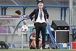 Olympique Lyonnais's coach Gerard Precheur during UEFA Women's Champions League 2015/2016 Final match.May 26,2016. (ALTERPHOTOS/Acero)
