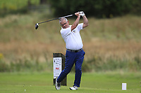 Gerry Durkin (Warrenpoint) during the final of the AIG Jimmy Bruen Ulster Final at Dungannon Golf Club, Dungannon, Tyrone, Ireland. 11/08/2017<br /> Picture: Fran Caffrey / Golffile