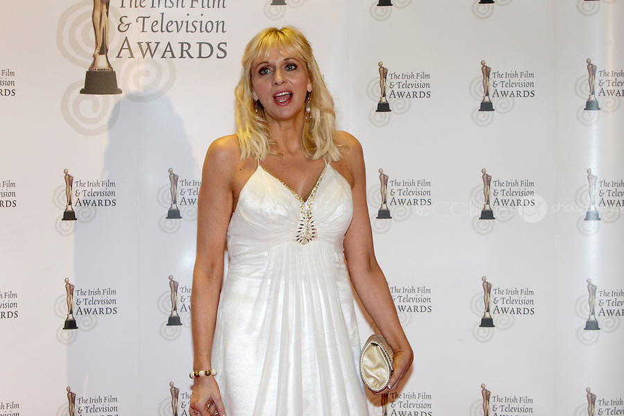 12/2/11 on the red carpet at the 8th Irish Film and Television Awards at the Convention centre in Dublin. Picture:Arthur Carron/Collins